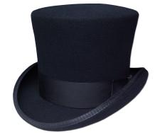 ニューヨークハット New York Hat フェルトトップハット 5009 MAD HATTER マドハッター Black 帽子 ハット 紳士 婦人 メンズ レディース 男女兼用 ギフト 送料無料 あす楽
