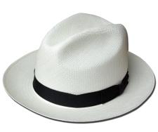 ニューヨークハット 帽子 ストローハット 中折れハット New York Hat 2078 PANAMA FEDORA XXL パナマ フェドラ エクアドル ナチュラル プティ 送料無料 大きいサイズ メンズ レディース