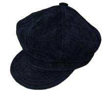 NYHの上質スエードは丈夫で滑らかです New York 激安通販ショッピング Hat ショッピング ニューヨークハット スエードキャスケット SUEDE SPITFIRE #9260 Black