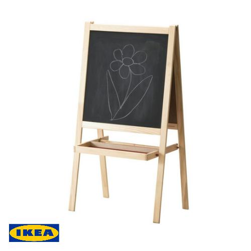 合計8 980円以上で送料無料 合計10 000円以上で代引き手数料無料 イケア IKEA 子供玩具 MALA 黒板 ホワイトボード ホワイトおもちゃ 30167852 セール商品 遊具 イーゼルソフトウッド smtb-ms お絵かき 出群