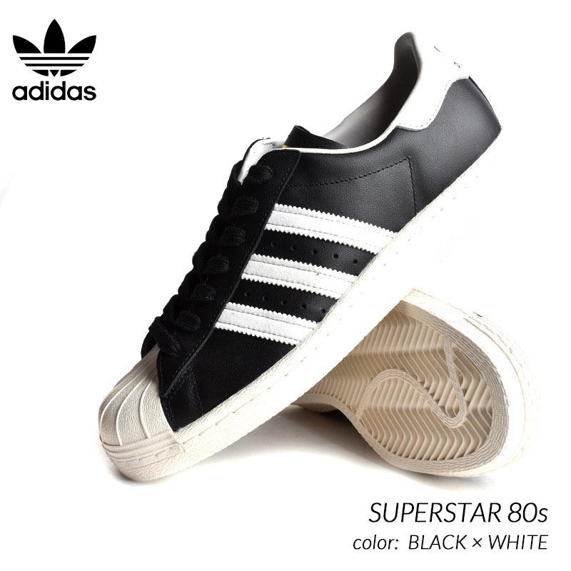 adidas superstar 80s black