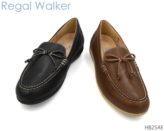 【7/25限定!Wエントリーで最大P16倍!カード】 リーガル レディース ウォーカー REGAL Ladies Walker HB25AE スリッポン 幅広 3E 4E ワイズ調節可能 靴 正規品