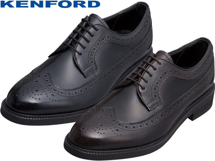【6/5限定!Wエントリーで最大P16倍!カード】 ケンフォード KENFORD KN35 AAJ 本革 メンズシューズ ビジネスシューズ ウイングチップ リーガルコーポレーション REGAL 靴 正規品