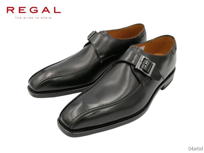 【7/25限定!Wエントリーで最大P16倍!カード】 リーガル REGAL 04AR 04ARBD メンズシューズ ビジネスシューズ 靴 正規品