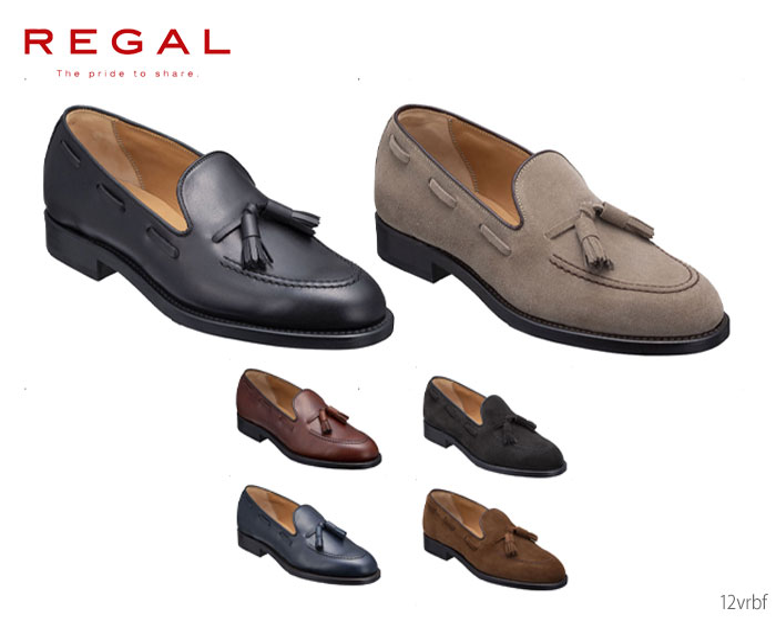 【9/25限定!WエントリーでP最大16倍!カードで】 リーガル REGAL 12VRBF タッセルスリッポン 靴 正規品 メンズ