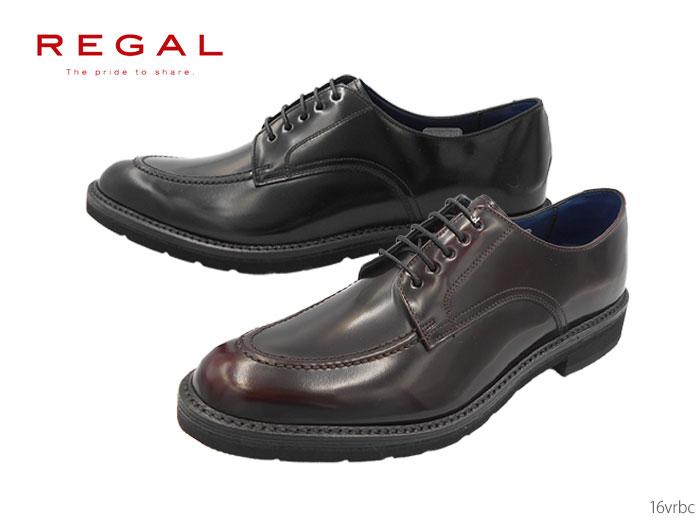 【7/25限定!Wエントリーで最大P16倍!カード】 リーガル REGAL 16VRBC 16VR BC メンズ ビジネスシューズ Uチップ 靴 正規品
