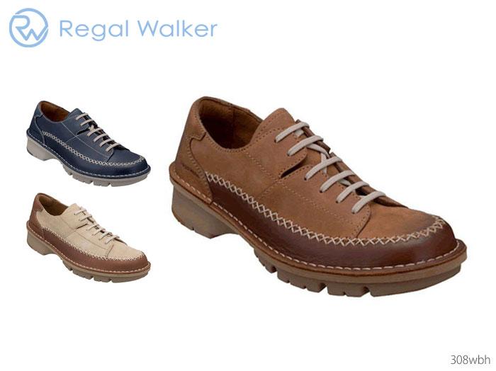 【6/5限定!Wエントリーで最大P16倍!カード】 リーガル 308W 308WBj リーガルウォーカー RegalWalker レースアップ 靴 正規品 メンズ