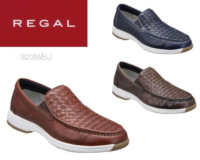 【6/5限定!Wエントリーで最大P16倍!カード】 リーガル ウォーカー REGAL WALKER 323W 323WBJ スリッポン 靴 正規品 メンズ