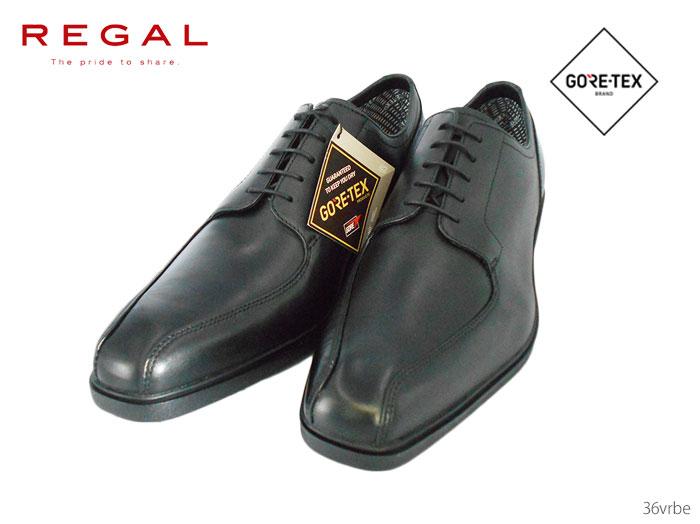 【6/5限定!Wエントリーで最大P16倍!カード】 リーガル REGAL 36VRBE 36VR BE メンズ ビジネスシューズ スワールトウ「GORE-TEX SURROUND(R)フットウェア」 靴 正規品