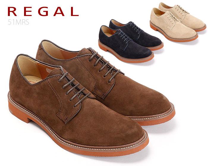 【6/5限定!Wエントリーで最大P16倍!カード】 リーガル REGAL 51MR 51MRAH カジュアルシューズ スエード 靴 正規品 メンズ