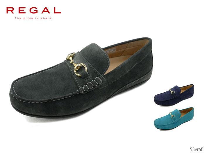 【6/5限定!Wエントリーで最大P16倍!カード】 リーガル REGAL 53VRAF ビットモカシン 靴 正規品 メンズ
