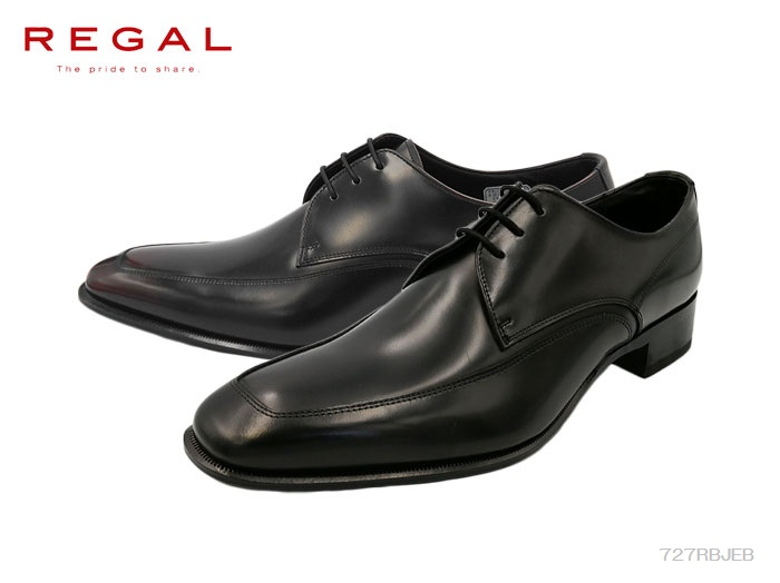 【6/5限定!Wエントリーで最大P16倍!カード】 リーガル REGAL 727R 727RBJEB メンズ ビジネスシューズ 靴 正規品 大きいサイズ キングサイズ