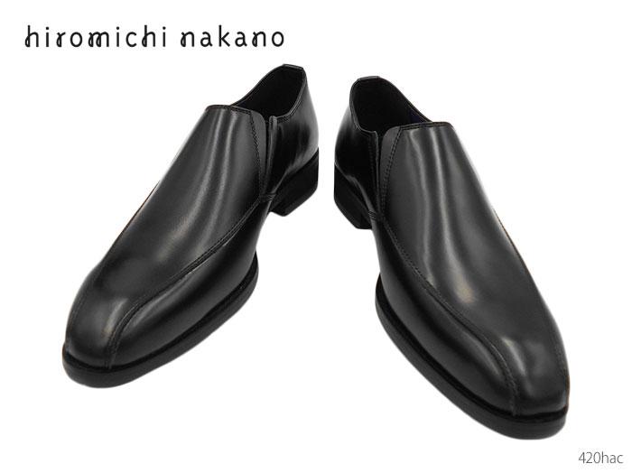 【6/5限定!Wエントリーで最大P16倍!カード】 ヒロミチナカノ hiromichi nakano 人気デザイナーブランド 420hac メンズ ビジネスシューズ 靴