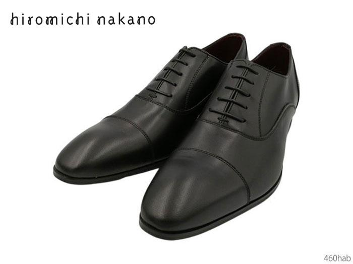 【6/5限定!Wエントリーで最大P16倍!カード】 ヒロミチナカノ hiromichi nakano 人気デザイナーブランド 460hab メンズ ビジネスシューズ 靴