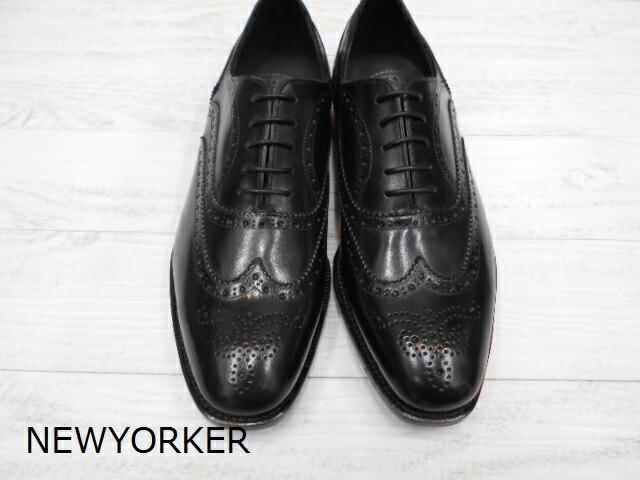 【7/25限定!Wエントリーで最大P16倍!カード】 NEWYORKER ニューヨーカー NY001 靴 メンズ