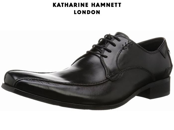 【7/25限定!Wエントリーで最大P16倍!カード】 キャサリンハムネット ロンドン KATHARINE HAMNETT LONDON 3972 外羽根式スワールトゥ 靴 メンズ