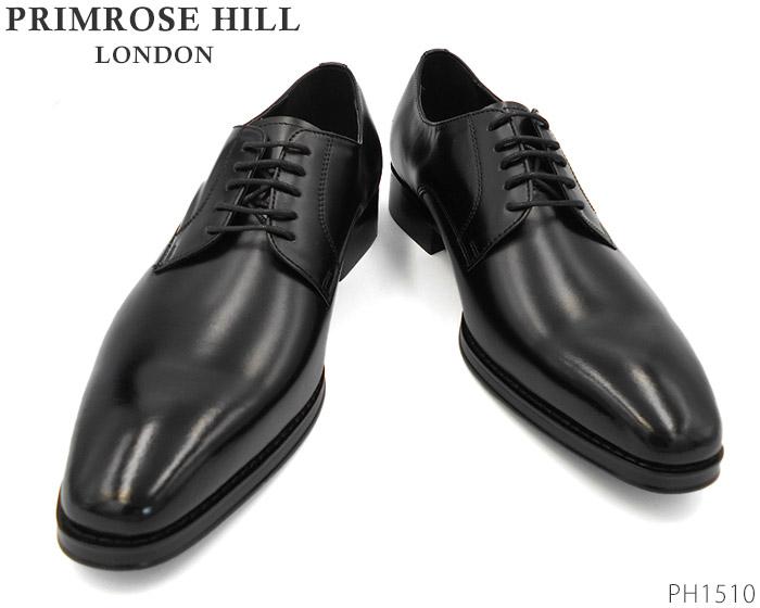 【6/5限定!Wエントリーで最大P16倍!カード】 プリムローズヒル PRIMROSE HILL LONDON PH1510 PH 1510 ビジネスシューズ プレーントゥ 靴 メンズ