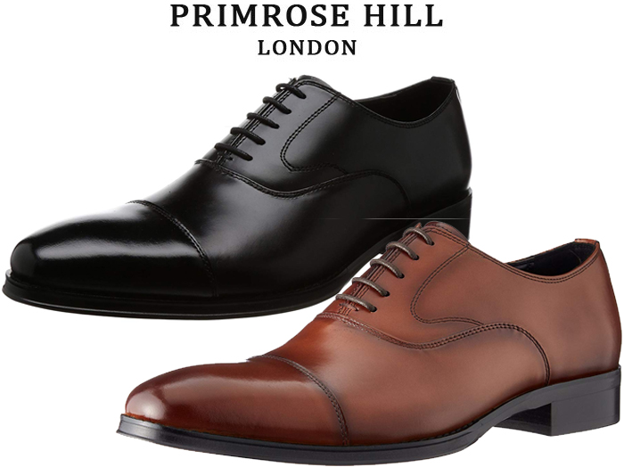 【4/10限定!WエントリーでP最大16倍!カード】 プリムローズヒル PRIMROSE HILL LONDON PH1511 PH 1511 ビジネスシューズ ストレートチップ 靴 メンズ