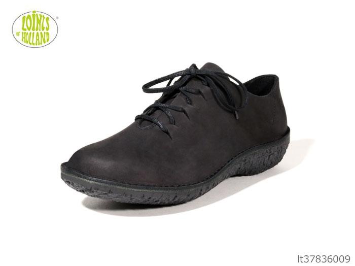【7/25限定!Wエントリーで最大P16倍!カード】 LOINT'S ロインツ フュージョン LT37836 LT37836009 ブラック レディース カジュアルシューズ コンフォートシューズ 靴 正規品