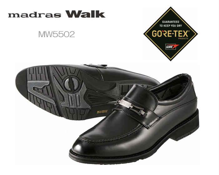 【6/5限定!Wエントリーで最大P16倍!カード】 マドラス madras Walk マドラスウォーク ビット MW5504 ゴアテックス 防水ビジネスシューズ 4E 靴 メンズ
