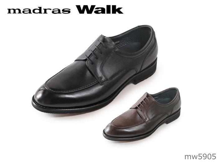 【9/25限定!WエントリーでP最大16倍!カードで】 マドラスウォーク MW5905 メンズ ビジネスシューズ madras Walk 靴 幅広 4E EEEE