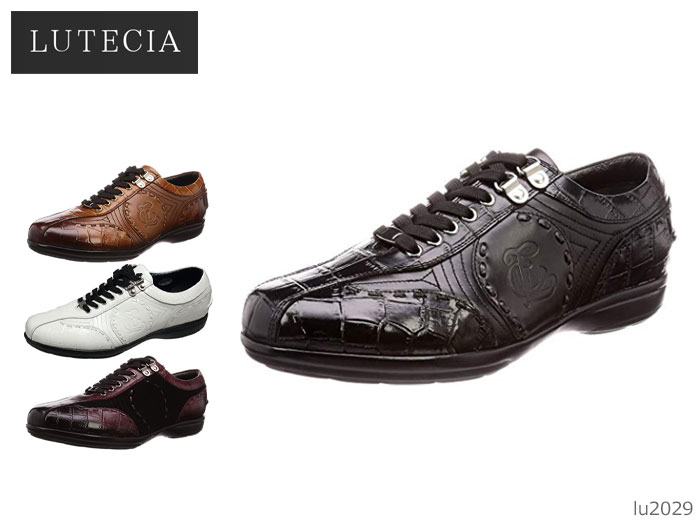 【6/5限定!Wエントリーで最大P16倍!カード】 madras マドラス LUTECIA ルテシア LU2029 メンズ カジュアルシューズ レザースニーカー 靴