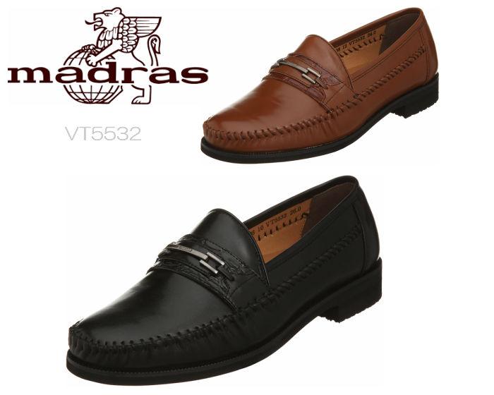 6 25限定 Wエントリーで最大P16倍 カードマドラス モデロ ヴィータ VT5532 黒 メンズシューズ ビットローファー スリッポン 紳士靴 紐なし靴 日本製 羊革 3E madras MODELLO VITA 軽量 モデロビータshrdQxCtB