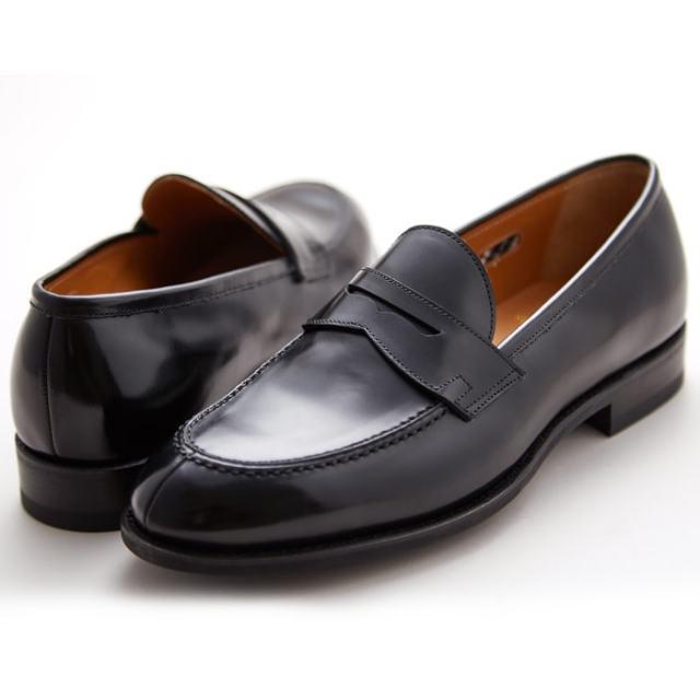 【6/5限定!Wエントリーで最大P16倍!カード】 NEWYORKER ニューヨーカー NY315 メンズ フォーマル ブラック ローファー ビジネスシューズ NEWYORKER FOOTWEAR 紳士靴