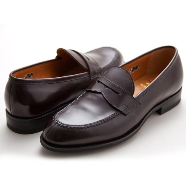 【6/5限定!Wエントリーで最大P16倍!カード】 NEWYORKER ニューヨーカー NY316 メンズ フォーマル ボルドー ローファー ビジネスシューズ NEWYORKER FOOTWEAR 紳士靴