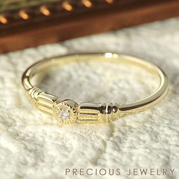 最大20%OFFクーポン配布中 リング ダイヤモンド 指輪 K10 イエローゴールド ギフト 【コンビニ受取対応商品】 【prering_l】 prco