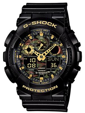 CASIO GA-100CF-1A9JF 腕時計 カシオ ユニセックス クオーツ 樹脂 無機ガラス