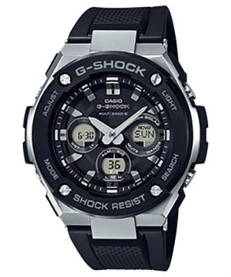 CASIO GST-W300-1AJF 腕時計 カシオ G-SHOCK ユニセックス クオーツ 樹脂 無機ガラス