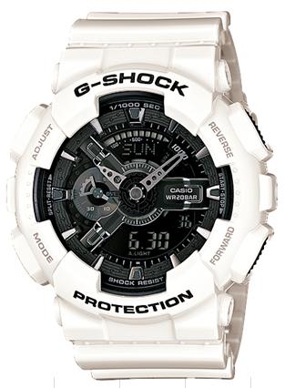 CASIO GA-110GW-7AJF 腕時計 カシオ ユニセックス クオーツ 樹脂 無機ガラス