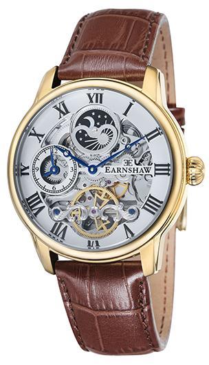 【新品】【国内正規品】EARNSHAW ES-8006-02 腕時計 自動巻き アーンショウ LONGITUDE メンズ