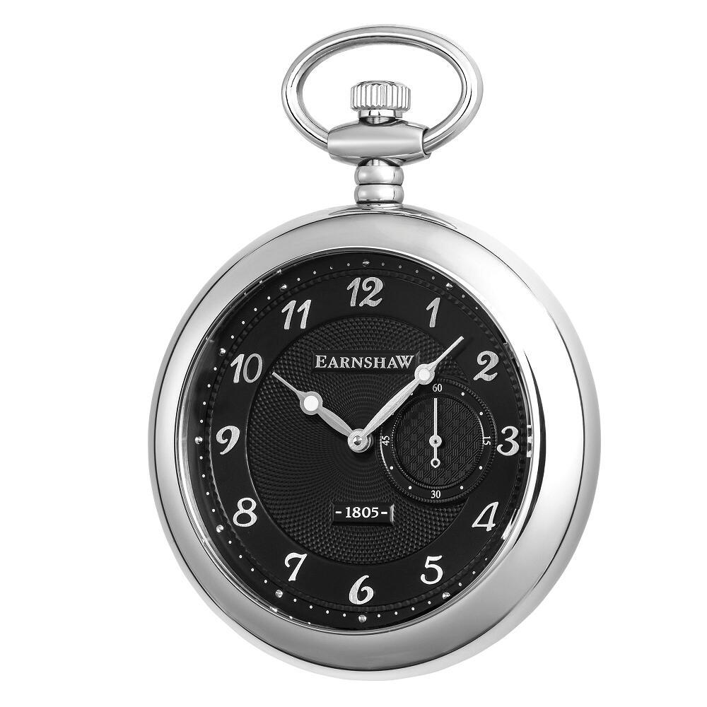 【新品】【国内正規品】EARNSHAW ES-8113-01  懐中時計 クォーツ アーンショウ メンズ GRAND LEGACY