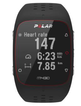 【新品】【国内正規品】POLAR M430 BK 腕時計 スマートウォッチ GPSつきランニングウォッチ ポラール ユニセックス メンズ レディース iphone