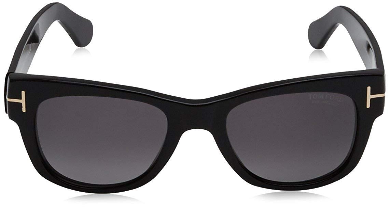 TOM FORD FT0058-0B5 Shiny Black サングラス ユニセックス メンズ