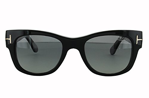 TOM FORD FT0058F-01A Shiny Black サングラス ユニセックス メンズ