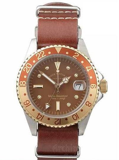【新品】【国内正規品】 VAGUE WATCH BG-L-001 腕時計 ヴァーグウォッチ スイス製クォーツムーブメント メンズ  BRWN GMT