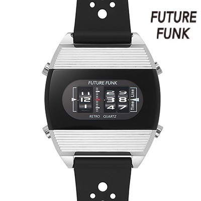 品質満点 FUTURE FUNK FF104-SV-RB 腕時計 クォーツ フューチャー ファンク プレゼント 誕生日 卒業 入社 就職, 佐波郡 d4f08ea2