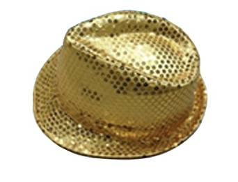 数量極少 売り切れ必至 卓出 爆買い送料無料 ゴールド スパンコールカラーハット