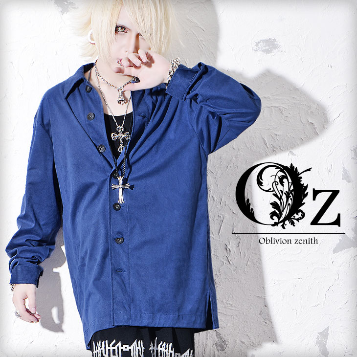 It is clothes autumn clothing fashion OZ Oz shirt in autumn in men long  sleeves long sleeves shirt fashion men design over size big silhouette