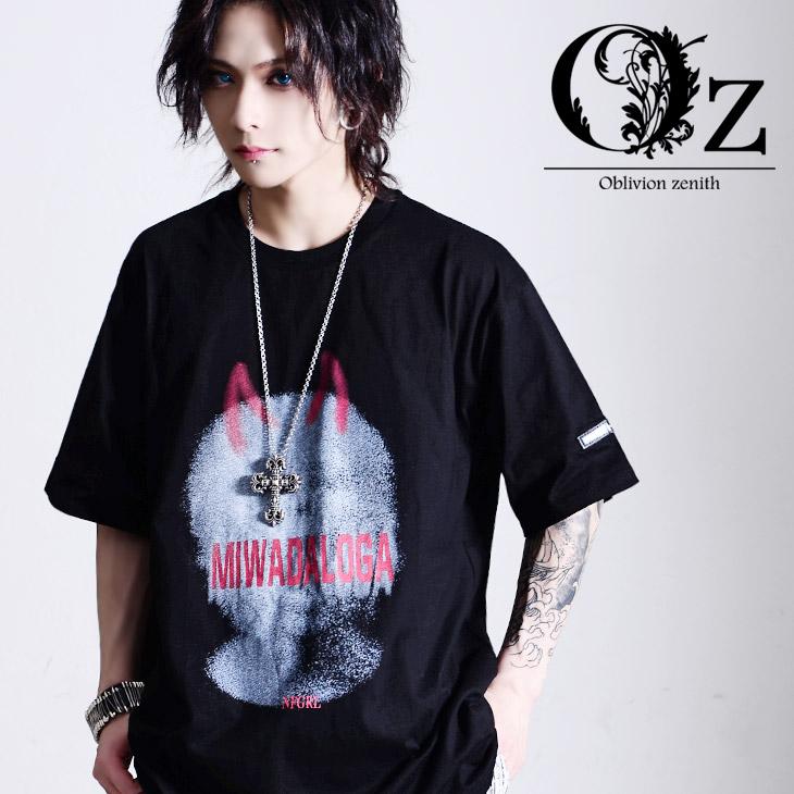 Oz 『1年保証』 select 新登場 Small Devil Print TEE V系 ヴィジュアル系 ビジュアル系 ファッション メンズ Tシャツ ビッグT オルターベノム パンクロック 個性的 ロック オーバーサイズ ブランド ロング ストリート 原宿系 ビックシルエット 原宿ファッション