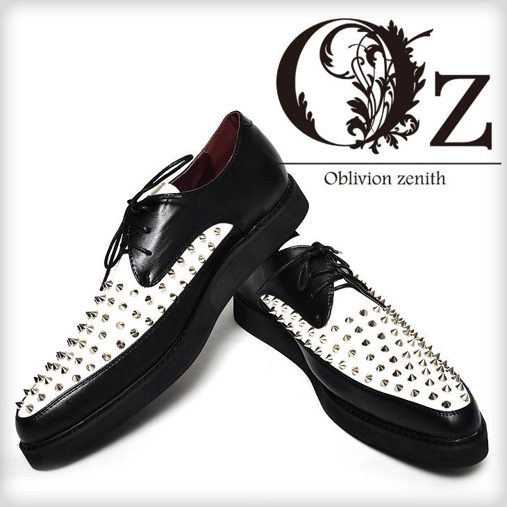 螺柱橡膠唯一鞋 + 橡膠底鞋 V 系列鞋鞋鑲嵌視覺系統男裝時尚皮革鞋仿皮視覺系統岩岩牛津翼尖馬尼什花邊朋克盎司盎司