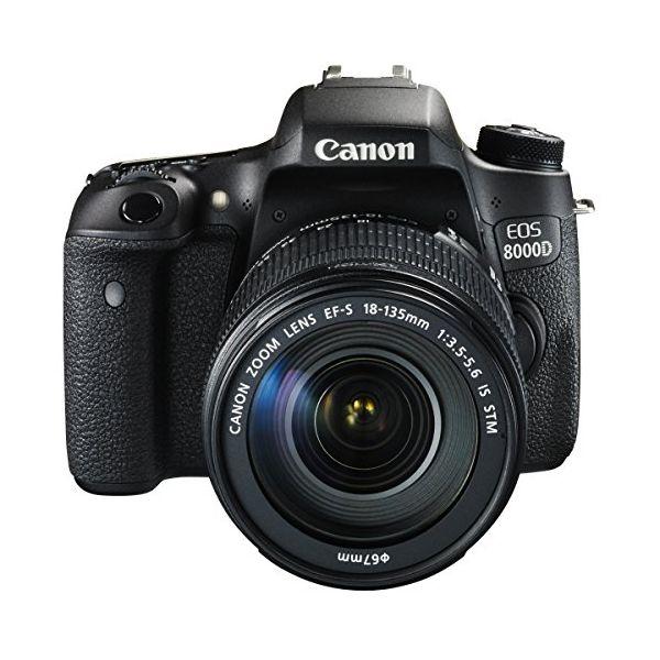 【中古】【1年保証】【美品】Canon EOS 8000D レンズキット 18-135mm IS STM