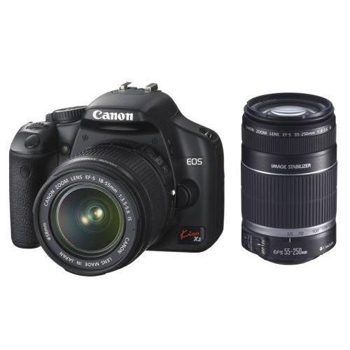 【中古】【1年保証】【美品】Canon EOS Kiss X2 ダブルズームキット