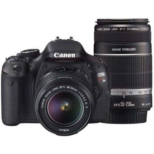 【中古】【1年保証】【美品】Canon EOS Kiss X5 18-55mm / 55-250mm ダブルズームキット