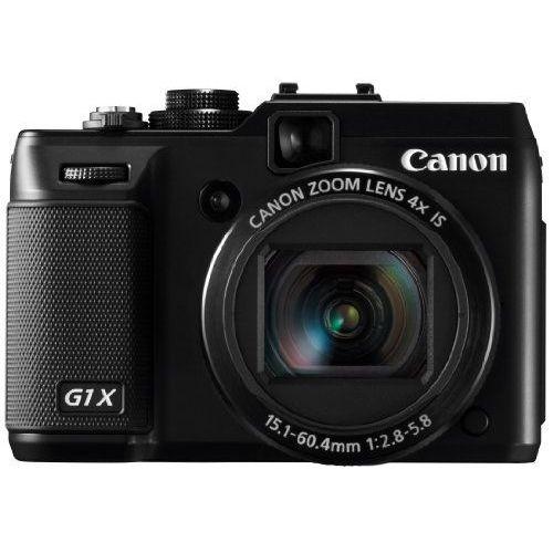 【中古】【1年保証】【美品】 Canon PowerShot G1X ブラック