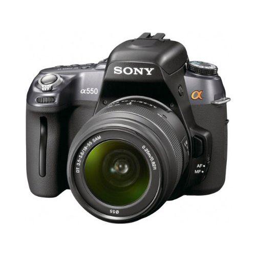 【中古】【1年保証】【美品】 SONY α550 DT 18-55mm F3.5-5.6 SAM