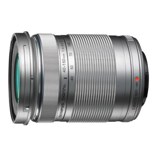 【中古】【1年保証】【美品】OLYMPUS M.ZUIKO DIGITAL ED 40-150mm F4.0-5.6 R シルバー
